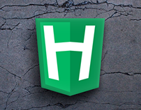 'H' Logo - Shadowing and effects test