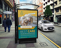 Veterinarian Clinic Poster Template