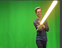 Light saber effect in After Effects