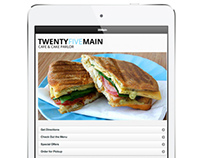 Twenty Five Main app design