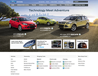 FORD.COM HOME PAGE