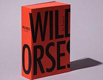 Wild Horses book design