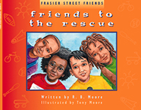 Friends to the Rescue Children's Book