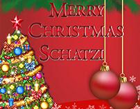 Merry Christmas, Schatzi eCard