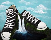 Sneaker Falls