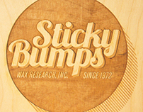 Surf Wax Logo Redesign and Package Design