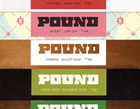 Pound Magazine Branding + Art Direction