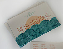On the Horizon // Postcard Design
