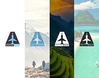 Attraction Travel Logo Design