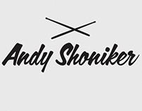 Andy Shoniker Branding