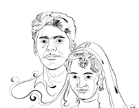 Wedding Invitation illustration