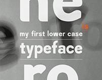 Hero typeface