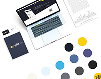 UI/UX mobile & web, visual identity - Point Taxi