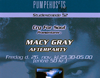 Macy Grey Afterparty Flyer -Copenhagen Pumpehuset -2000
