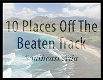 10 Places Off The Beaten Track