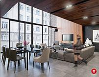 Mandarin Duplex Penthouse interior