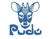 Pudú Logo Design