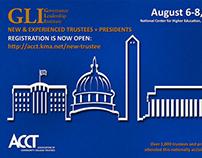ACCT Governance Leadership Institute Mailer