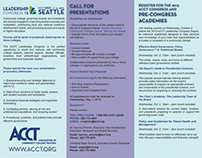 ACCT Call for Presentations - Side 2