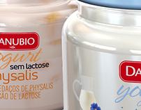 Yogurt Danubio sem Lactose