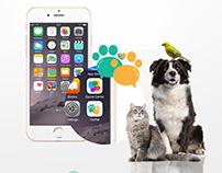 Chipet App UI / UX Design Logo Design