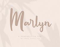 FREE | Marlyn Handwritten Type