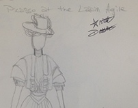 Picasso at the Lapin Agile Costume Design