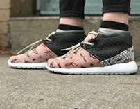 Warp Knit Composite Athletic Sneaker