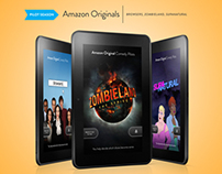 AMAZON ORIGINAL PILOTS - Kindle Fire Campaign