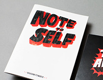 Note to Self Zine