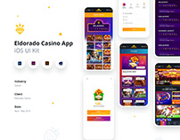 Eldorado Casino - Mobile Web UI, App UI