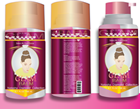 Glam Balm Package Design
