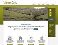Vision21 Website Design