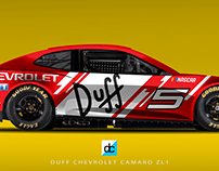 2018 Chevrolet Camaro ZLR Nascar x The Simpsons