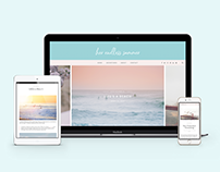 Her Endless Summer Site Branding