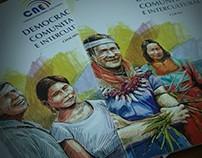 DEMOCRACIA COMUNITARIA E INTERCULTURAL (BOOK COVER)