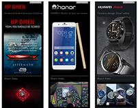 Digital Advertising Banners - Web/ Mobile : Flash-HTML