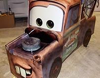 Disney's Mater Shopping Cart Dressout