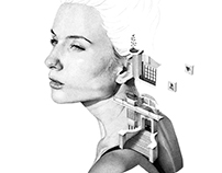 'Bauhaus' 1 Million Dots - Stippling