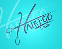 Hair I Go Salon Logo Development