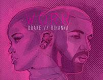 "Rihanna ""WORK"" Drake"
