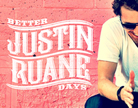 "Justin Ruane ""Better Days"" - Album Cover"