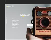 Myseum - Digital Museum Curated Platform