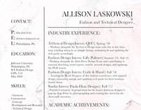 Allison Laskowski Resume 2020