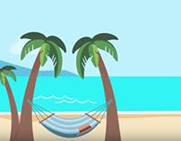 موشن جرافيك لشركة يلا للسياحة والسفر