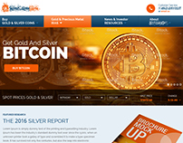 Web design for a Financial Related Site