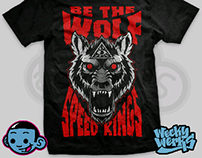 """Speed-Kings """"be the wolf"""" design"""