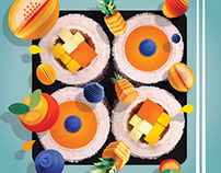 Waitrose Weekend Frushi