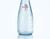 Drink photography. Evian.