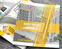 T.C. DAZKIRI BELEDİYESİ KONUT PROJESİ 2016 KATALOG